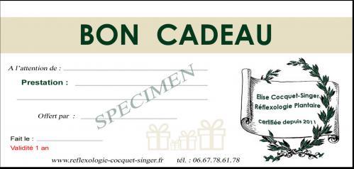 Bon cadeau specimen 4
